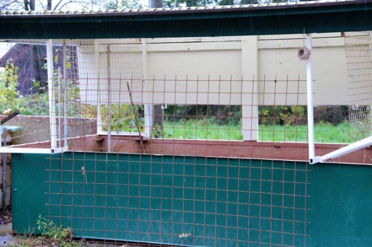Tomatenhaus ist leer