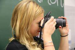 Fotgrafin fotografiert Fotografin